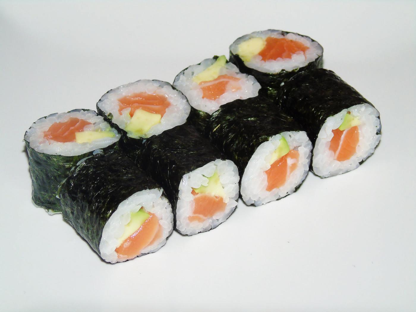 Hostomaki Salmon and Avocado 8 pcs